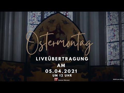 Gottesdienst am Ostermontag um 12 Uhr aus St. Remigius