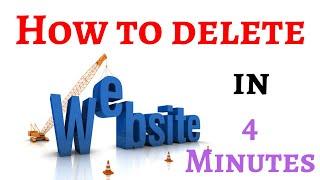 How to delete a website|Delete domain|Delete website in server #deletewebsite #deletedomain #domain