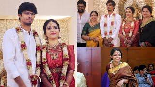 താരനിബിഢമായി ഡബ്ബിങ് ആർട്ടിസ്റ് ഭാഗ്യലക്ഷ്മിയുടെ മകന്റെ വിവാഹം   Bhagyalakshmi Son Marriage
