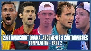 Tennis Hard Court Drama 2020 | Part 02 | I'm Done, I'm Done, I'm Not Playing Anymore