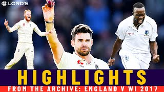 Anderson's Best Ever Figures As He Hits 500! | Classic Match | England v West Indies 2017 | Lord's