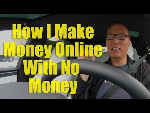 How I Made Money Online with No Money