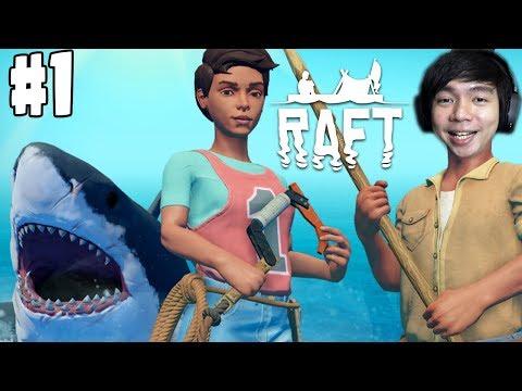 Terdampar Di Tengah Laut | Raft Game Indonesia | Part 1