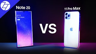 Samsung Galaxy Note20 Ultra vs Apple iPhone 11 Pro Max - Which One To Get?