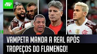 """""""O Flamengo não vai…"""" Vampeta cita Bayern, Manchester City e manda a real"""