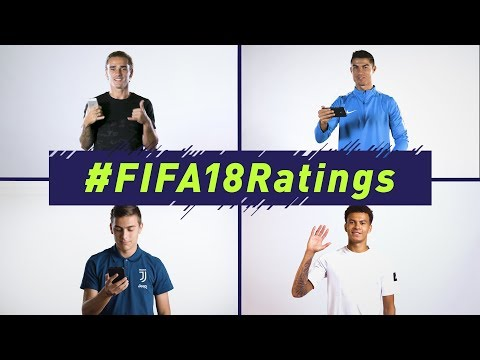 FIFA 18 | Official Ratings Reveal | Ft. Ronaldo, Griezmann, Alli, Muller