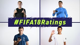 FIFA 18 | Official Ratings Reveal | Ft. Ronaldo, Griezmann, Alli, Muller