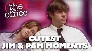Some Of Jim & Pam's Cutest Moments | The Office US | Comedy Bites