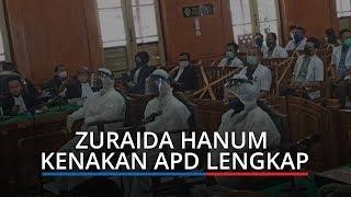 Kenakan APD Lengkap, Zuraida Hanum Jalani Sidang Terkait Pembunuhan Hakim Jamaluddin