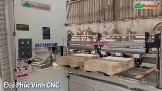 Máy cưa lọng bánh đà CNC | Lọng CNC giá tốt | Woodmaster |