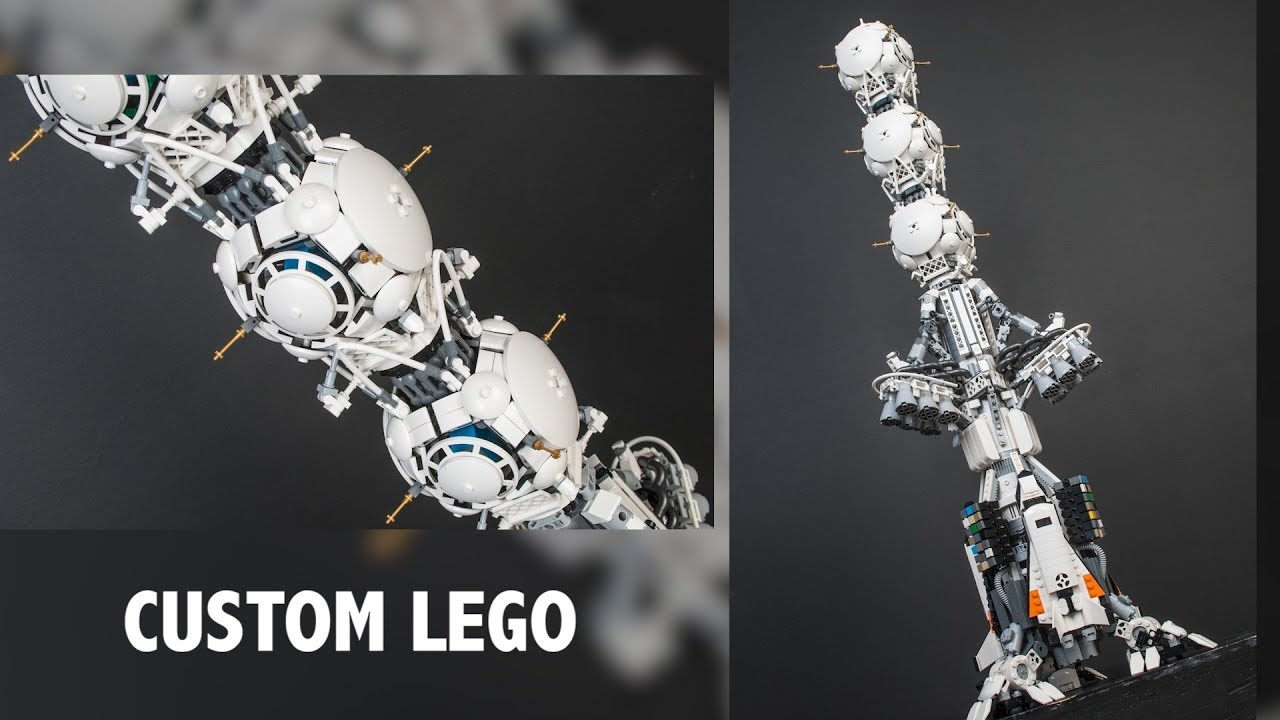 LEGO Destiny 2 Colony Ship 'Exodus Black' | Brickworld Chicago 2019