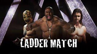 Lucha Underground 12/10/14  TRIPLE THREAT LADDER MATCH