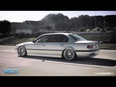 BMW 7 Series (E38) on Vossen CV1 Wheels by California Wheels