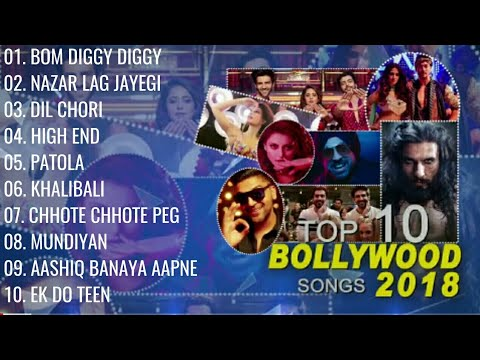Download Top 10 Bollywood Songs 2018  (Audio Jukebox ) |