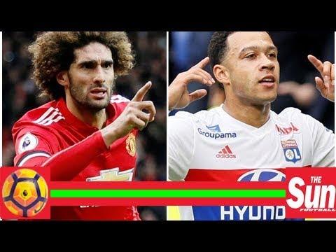 Marouane Fellaini and Memphis Depay 'still keen on AC Milan' despite possibility of no European foo