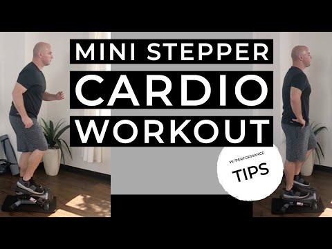 Mini Stepper Cardio Workout W/ Performance Tips