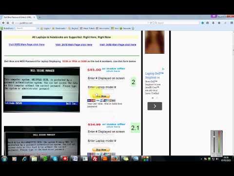 Unlock Dell Latitude E6420 Bios Password - смотреть онлайн