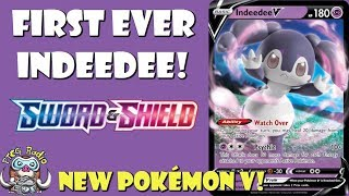 Indeedee  - (Pokémon) - Indeedee V Heals, Smashes and has a Weird Weakness!! (Sword & Shield TCG)