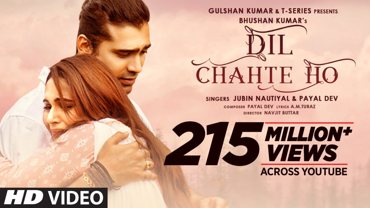 Dil Chahte Ho| Jubin Nautiyal Lyrics