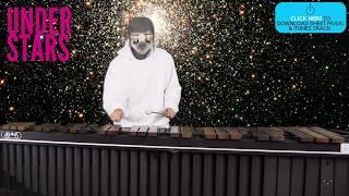 Under Stars for Marimba (Optional Bells, Glockenspiel, Xylophone, Vibraphone)