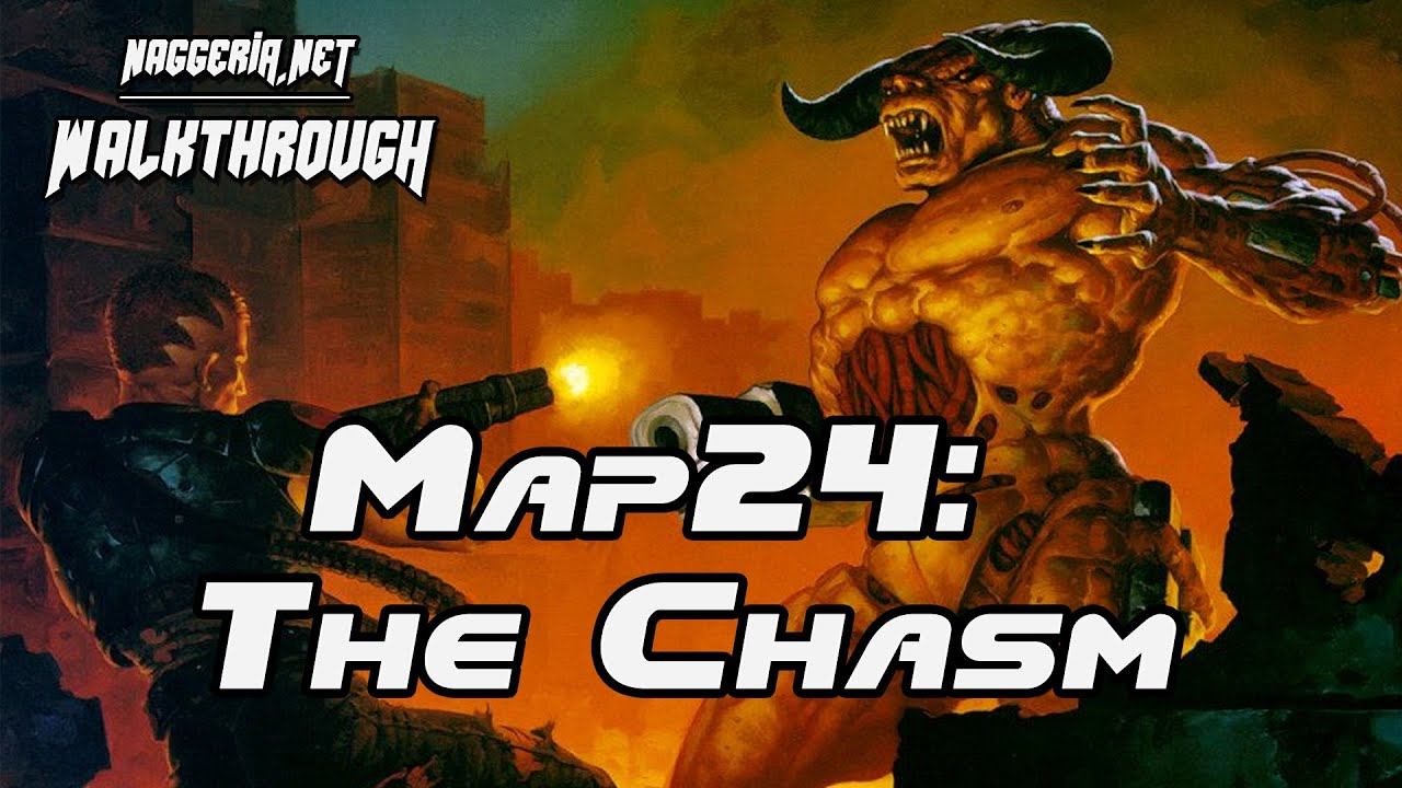 "[Doom 2 Komplettlösung] Map24: ""The Chasm"" Walkthrough (Ultra-Violence)"
