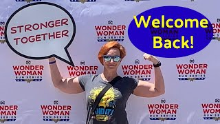 WELCOME BACK! TRAINING UPDATE, POST-TRAVEL, + DC WONDER WOMAN 5K RUN!