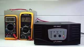 ИБП Luxeon UPS-1000ZY, для котлов отопления, чистая синусоида, внешняя АКБ