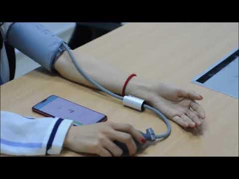 Ein Blutdruckmessalgorithmus Nursing