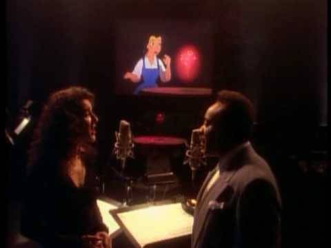 Celine Dion & Peabo Bryson - Beauty And The Beast (HQ Official Music Video)