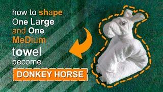 HORSE OR DONKEY  - TOWEL DESIGN