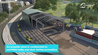 How we're building Anzac Station