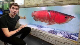 $30,000 FISH!! - Inside Singapore's *LARGEST* Arowana + Stingray Breeder...