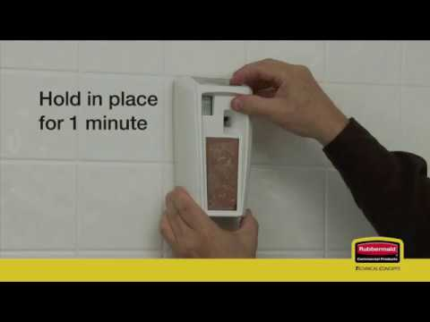Product video for Microburst® 3000 Dispenser with LumeCel™ Technology   Black