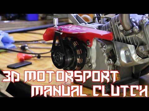 Ended) Predator 212 Go Kart Manual Clutch (3D Mot | Youtube