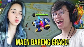 NAEK JONSHON BARENG GRACE ! - MOBILE LEGENDS INDONESIA