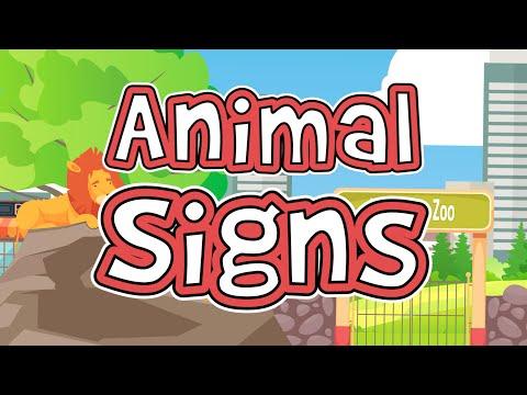 Animal Signs | ASL for Kids | Jack Hartmann Sign Language