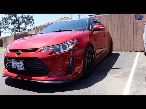 Surprising my GF with new Wheels for her 2016 Scion TC Release Series 10