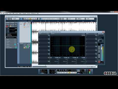 STEINBERG CUBASE: Using phase reversed audio