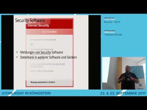 JD17DE - Security = SEO!?