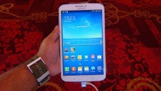 Samsung Galaxy Tab 3 8.0 8-inch 311 Review: Hands on First look HD