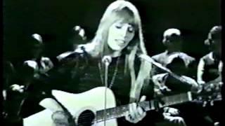 Joni Mitchell - Night In the City - 1967 - CBC TV
