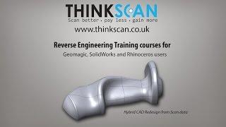 Reverse engineering training courses | Geomagic Sample