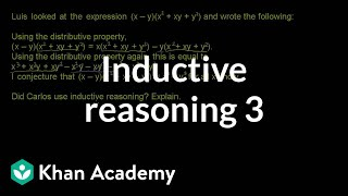 Inductive Reasoning 3