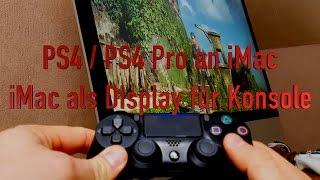 PS4 Pro an iMac - Retina iMac als Display für Konsolen - Elgato Game Capture HD60 S - TheAskarum