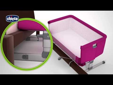 Детская кроватка-манеж NEXT2ME от Chicco