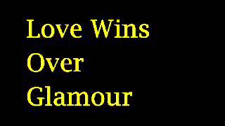 Adam Lambert - Love Wins Over Glamour lyrics