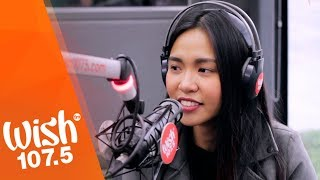 "Aicelle Santos sings ""Ikaw Pa Rin"" LIVE on Wish 107.5 Bus"