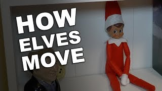 How Does Elf On The Shelf Move Around?