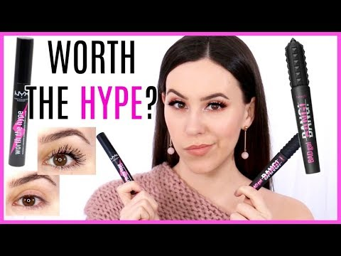 HONEST REVIEWS || Benefit Bad Gal Bang Mascara & NYX Worth the Hype Mascara
