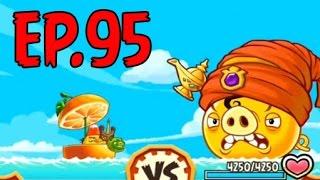 Angry Birds Fight!-MAGIC LAMP PIG RAID-GOLDEN MAGIC LAMP HAT (SS MATILDA)-EP95